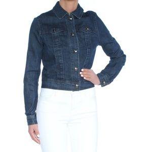 Max studio London jean jacket XS